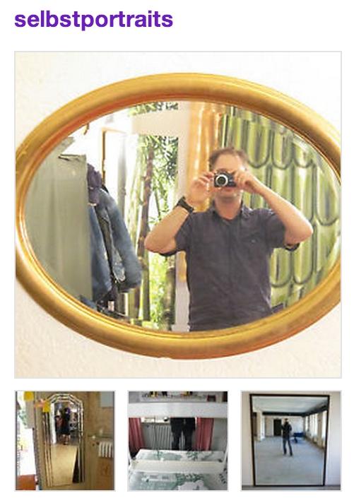 Selbstportraits, Ebay-Kunden, die sich selbst fotgrafieren