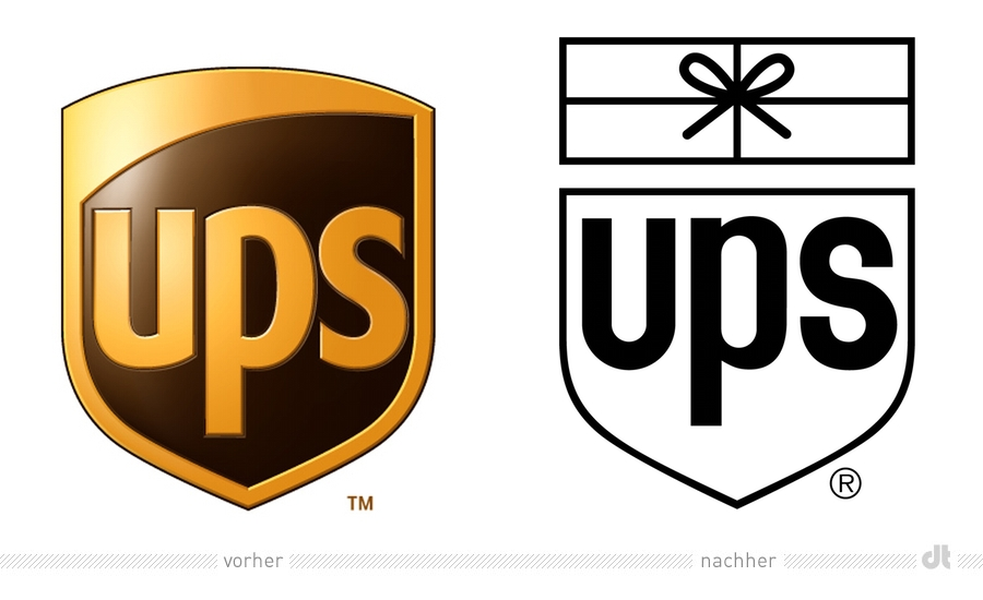 ups-logo alt und noch �lter
