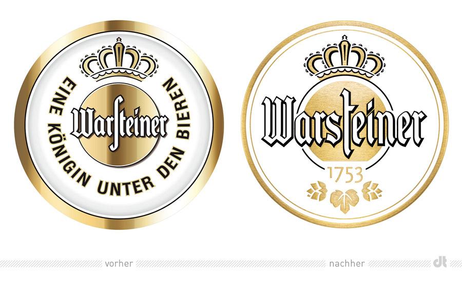 warsteiner logo alt und neu
